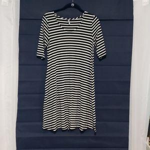 Vanity stripe dress with pockets!!!